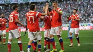 Сборная России - Сан-Марино 9-0