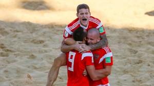 Россия вышла в полуфинал ЧМ по пляжному футболу