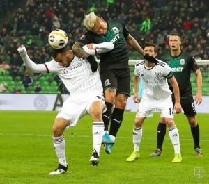 Краснодар обыграл Базель в матче Лиги Европы