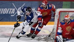 Сборная России уступила Финляндии в Кубке Карьяла
