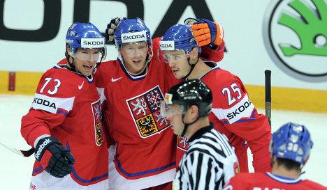 Сборная Чехии на Кубке Мира по хоккею