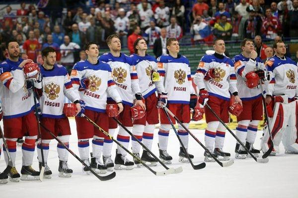 Сборная России на кубке Мира по хоккею
