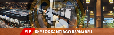VIP SKYBOX на Santiago Bernabéu