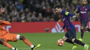 """""""Барселона"""" - """"Лион"""" - 5:1. Лига Чемпионов УЕФА"""